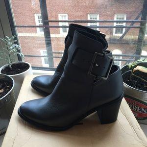 Miista Pewter Mimix Ankle Boots New 6